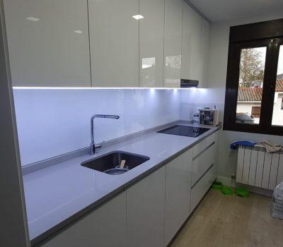 cocina de cristal